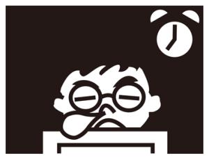 メガネ男子(遅刻欠席理由編)