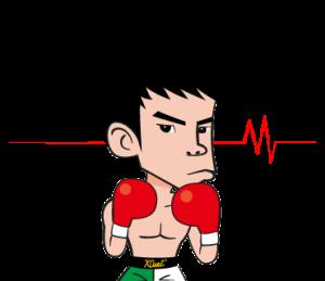 プロボクサー 田中恒成 公式スタンプ