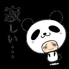 ☆パンダさんは今日も寂しげ☆