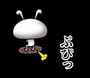 彫りの深いウサギ(2)