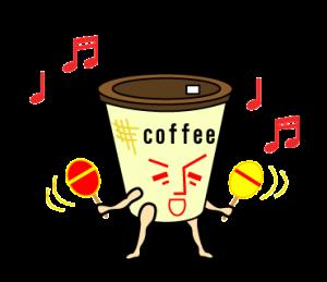 コンビニ珈琲(コーヒー)のコヒ男とオレ子
