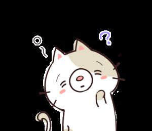 ぽちゃネコとねずみさん