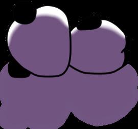 ネガ&ポジパンダ