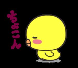 ひよこの「ぴよぴよ」2