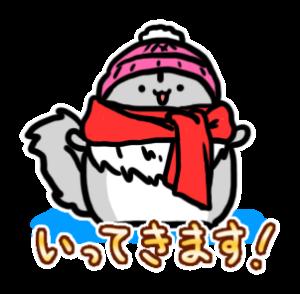 ももんがもん(冬毛Ver)