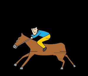 すぐる と 馬