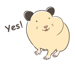 Syrian hamster MUGI [English version]