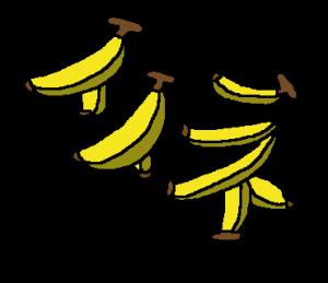 どんだけ バナナ 文字なんていらない