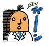 無表情研究員 はにわ田さん