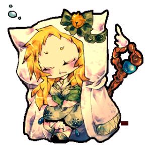 RPG風メルヘン娘スタンプ
