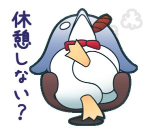 もう言うことがないペンギン