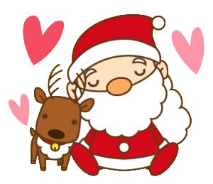 サンタさんとトナカイさん