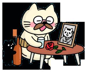 猫のニャモメさん
