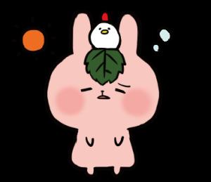 柏猫と桜兎