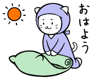 猫にんの日常