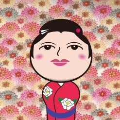 こけしっ娘(3姉妹)