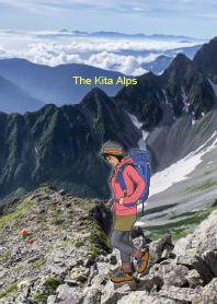 登山女子_Kita Alps