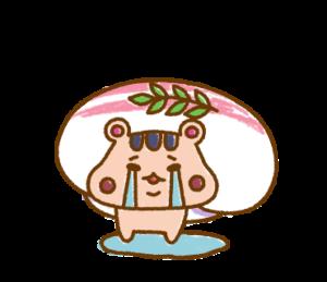 寿司ハムちゃんのメッセージスタンプ
